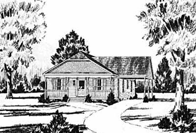 Country Style House Plans Plan: 18-143