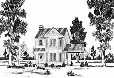 Southern Style Floor Plans Plan: 18-144