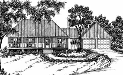 Traditional Style House Plans Plan: 18-147