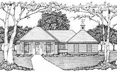 Southern Style Floor Plans Plan: 18-148