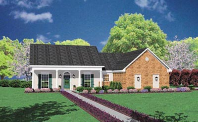 Southern Style House Plans Plan: 18-149