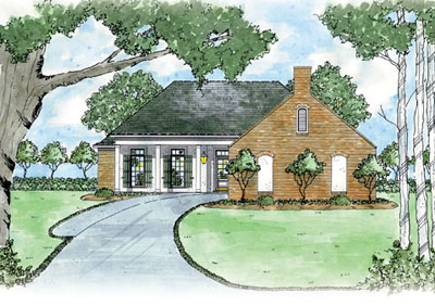 Country Style House Plans Plan: 18-150