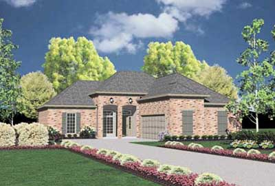 Traditional Style Floor Plans Plan: 18-151