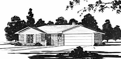 Ranch Style House Plans Plan: 18-152