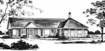 Traditional Style House Plans Plan: 18-154