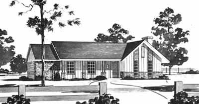 Ranch Style House Plans Plan: 18-156