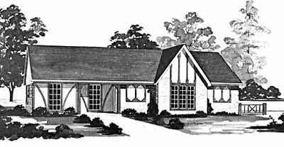 Traditional Style Floor Plans Plan: 18-157