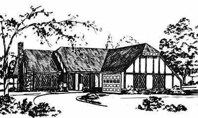 Traditional Style Floor Plans Plan: 18-160