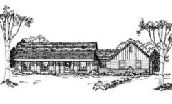 Country Style Home Design Plan: 18-161