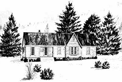 Traditional Style Floor Plans 18-163