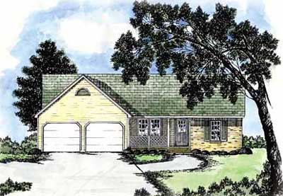 Traditional Style House Plans Plan: 18-167