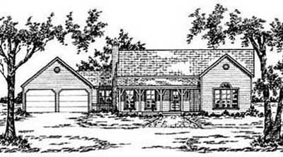 Ranch Style Floor Plans Plan: 18-172