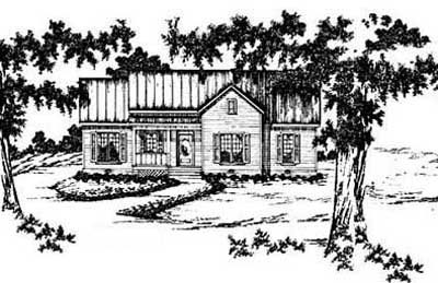 Traditional Style House Plans Plan: 18-175