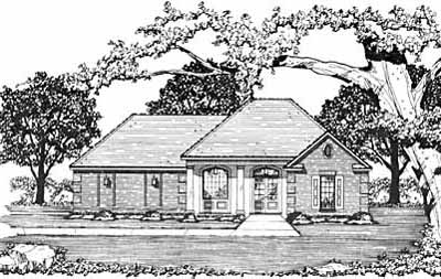 Traditional Style Floor Plans Plan: 18-178
