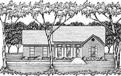 Traditional Style Floor Plans Plan: 18-179