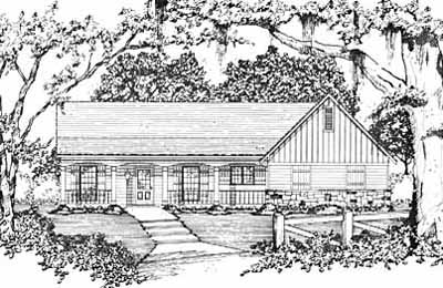 Ranch Style House Plans Plan: 18-180
