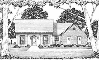 Southern Style House Plans Plan: 18-182