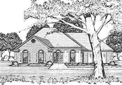 Traditional Style Floor Plans Plan: 18-183