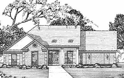 Traditional Style House Plans Plan: 18-184