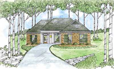 Traditional Style Floor Plans Plan: 18-187