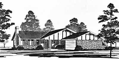 Ranch Style Floor Plans Plan: 18-191