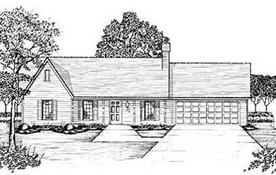 Traditional Style Floor Plans Plan: 18-196