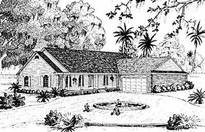 Traditional Style Floor Plans 18-200