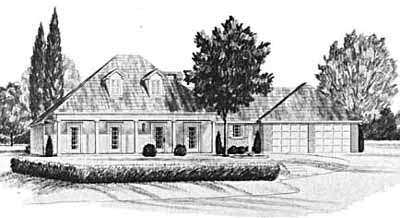 Southern Style Floor Plans Plan: 18-201
