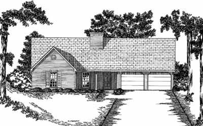 Ranch Style Floor Plans Plan: 18-204