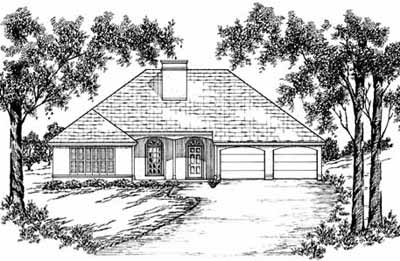 Traditional Style Floor Plans Plan: 18-205