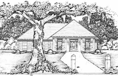 Traditional Style Floor Plans Plan: 18-209