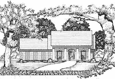 Southern Style House Plans Plan: 18-210