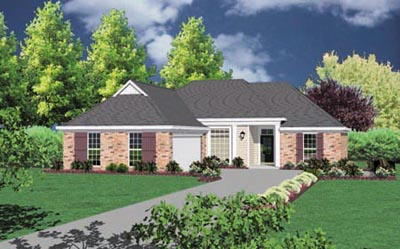 Traditional Style House Plans Plan: 18-212