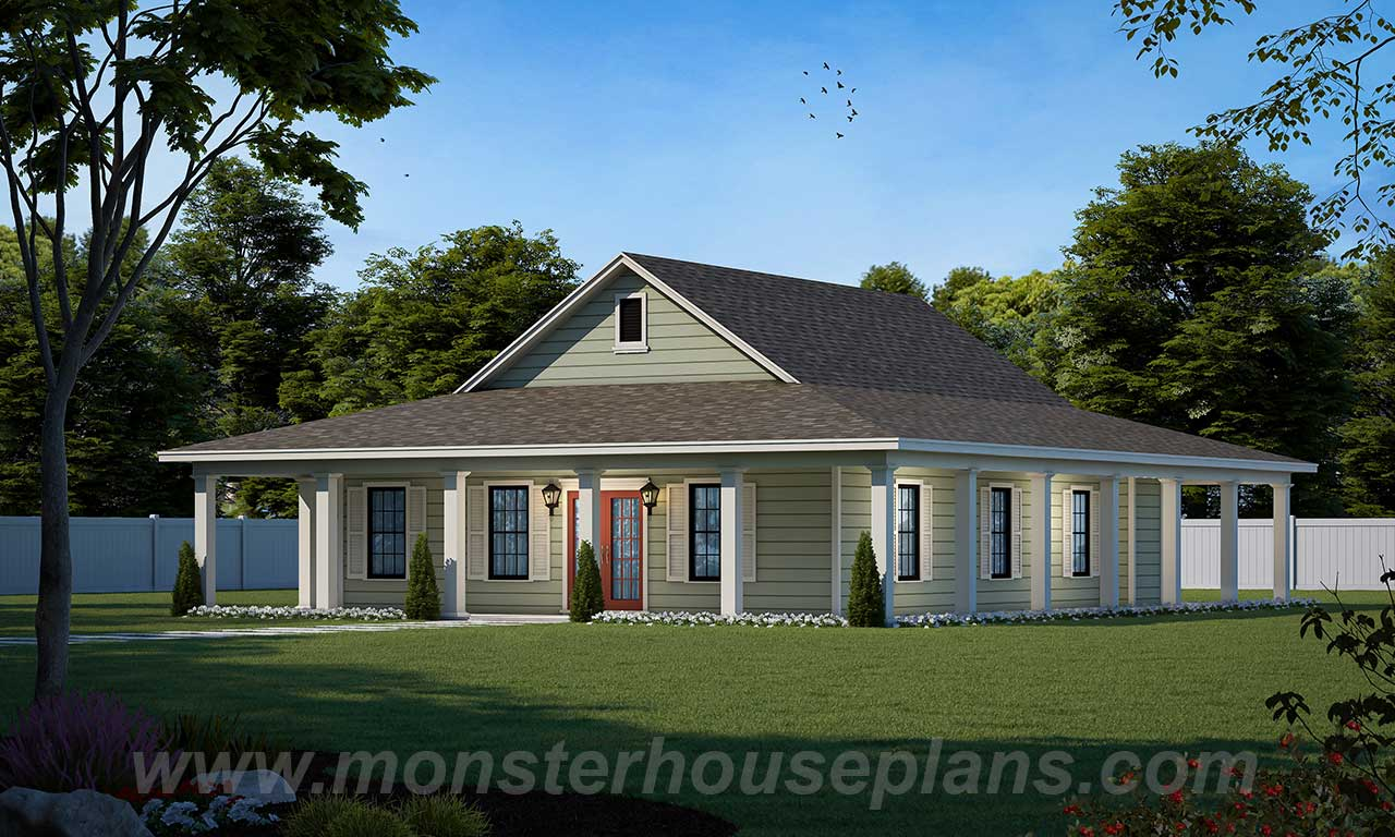 Southern Style House Plans Plan: 18-213