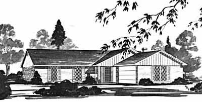 Ranch Style House Plans Plan: 18-216
