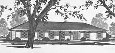 Ranch Style Floor Plans Plan: 18-217