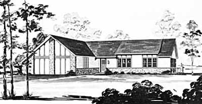 Ranch Style House Plans Plan: 18-221