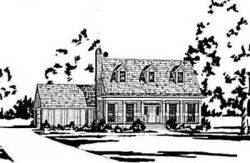 Country Style House Plans Plan: 18-225