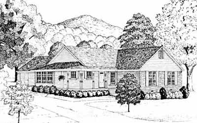 Southern Style House Plans Plan: 18-226