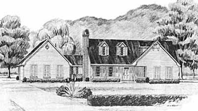 Country Style House Plans Plan: 18-227