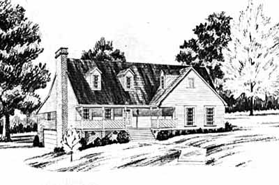Country Style House Plans Plan: 18-228