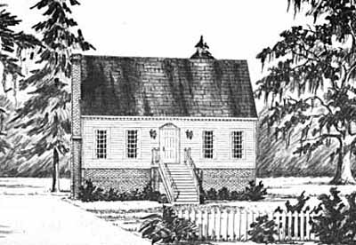 Early-american Style Floor Plans Plan: 18-230