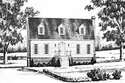 Cape-cod Style Floor Plans Plan: 18-231