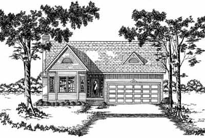 Southern Style House Plans Plan: 18-234