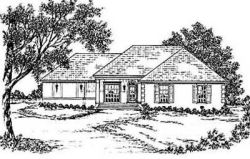 Country Style Floor Plans Plan: 18-235