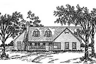 Country Style House Plans Plan: 18-236