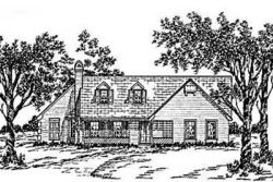 Country Style Home Design Plan: 18-236
