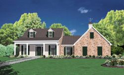 Country Style Floor Plans Plan: 18-238