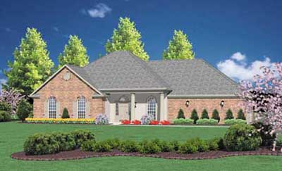 Southern Style Floor Plans Plan: 18-240