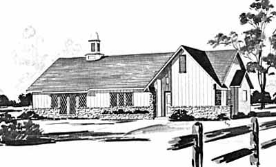 Ranch Style House Plans Plan: 18-245